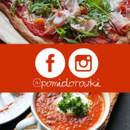 Pomidorówki na Instagramie i Facebooku