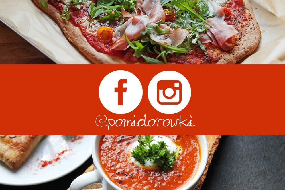 Ikona wpisu pomidorówki na instagramie i na facebooku