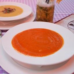 Krem z pomidorów w La Maddalena