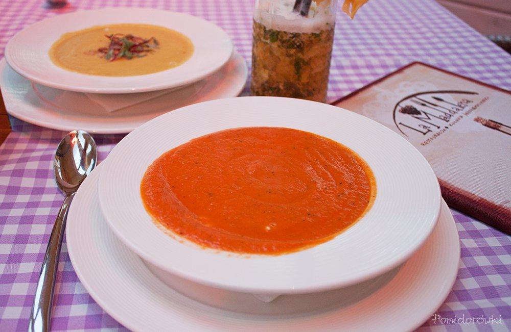 krem z pomidorów pomidorowki la maddalena
