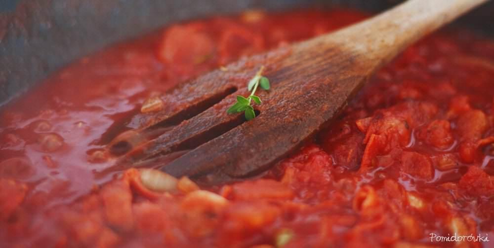 pomidory z tymiankiem
