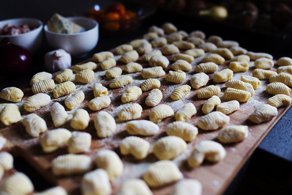 gotowe gnocchi przed ugotowaniem